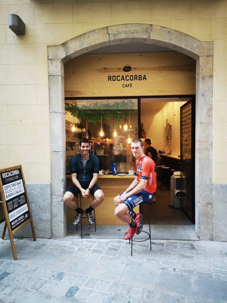 Rocacorba Cafe Rohan Dennis